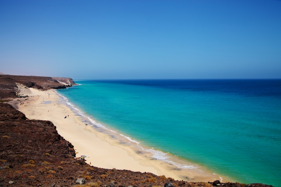 'Playa Barca, Costa Calma, Fuerteventura, Canary Islands, Spain' - Fuerteventura
